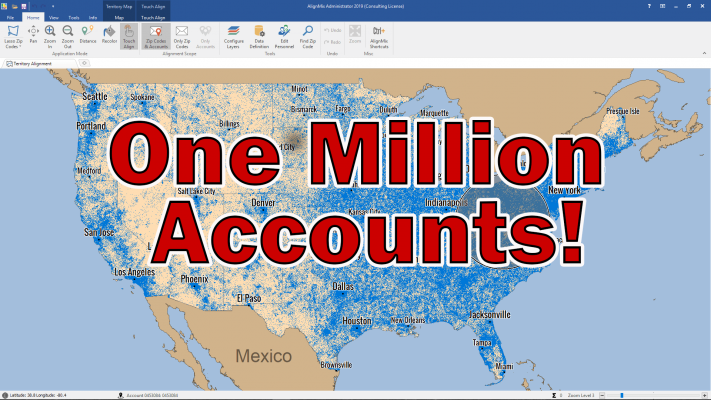 1 Million Sales Territory Mapping Records