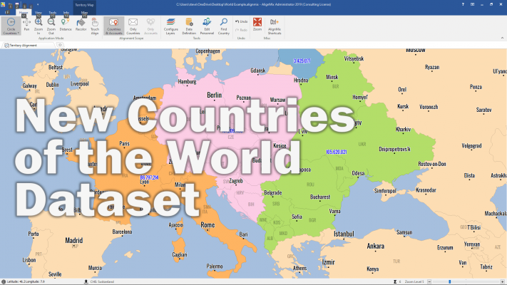 1 Sales Territory Mapping Solution: AlignMix Professional