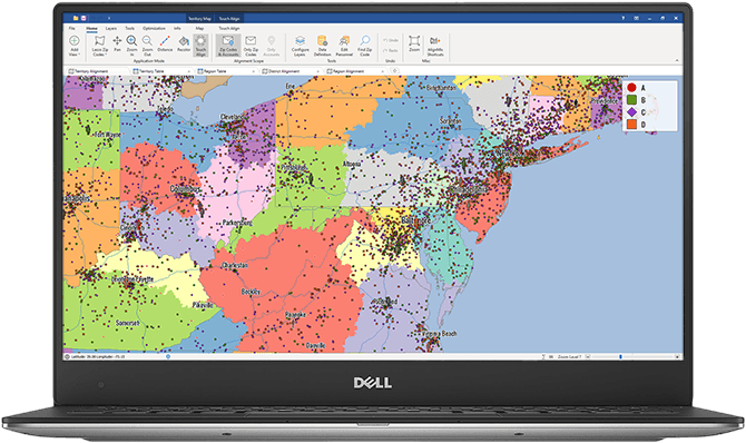 Sales Territory Mapping Software