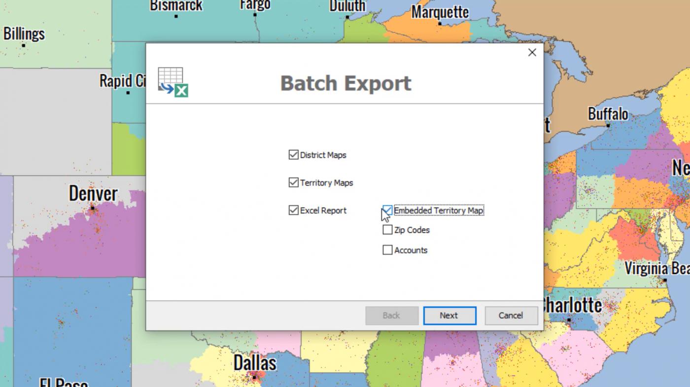 Batch Export