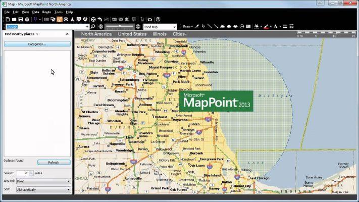 Mappoint Alternative
