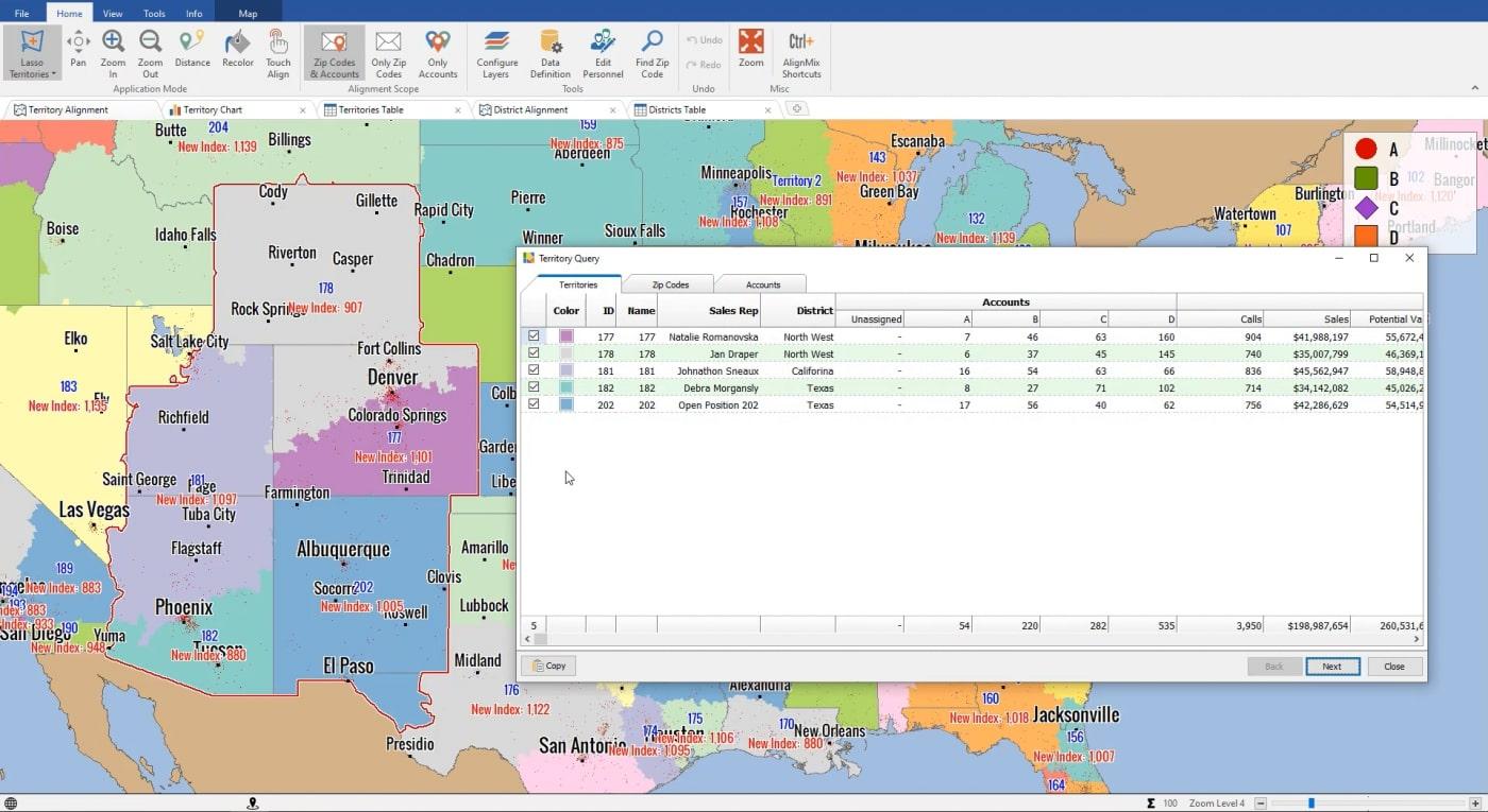 Territory Lasso Tool | AlignMix